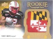 2011 Upper Deck Exquisite Torrey Smith
