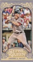 2012 Topps Gypsy Queen Straight Cut Front