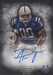 2012 Topps Inception Dwayne Allen Autograph RC
