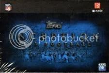 2012 Topps Inception Football Hobby Box