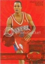 1997-98 Allen Iverson Precious Metal Gem