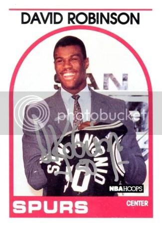 12-12 NBA Hoops Original 89-90 Autograph Buy-Back David Robingson