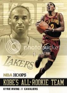 2011-12 Panini NBA Hoops Kobe's All Rookie Team Kyrie Irving Card