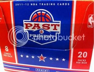 2011-12 Panini Past & Present Basketball Box