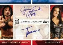 2012 Topps WWE Cards Dual Autograph