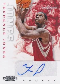 12/13 Panini Playoff Contenders Autograph RC #217 Terrence Jones