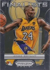12/13 Panini Prizm Finalist Kobe Bryant Insert Card