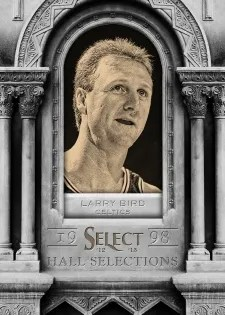 12/13 Panini Select Hall Selctions Larry Bird Insert