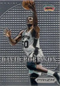 2012-13 Panini Prizm David Robinson Most Valuable Players Insert Card
