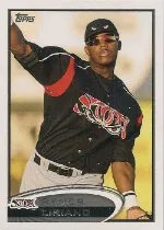 2012 Topps Pro Debut SP Photo Variation #113 Rymer Liriano