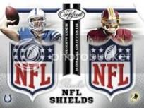 2012 Certified Football Dual Shields