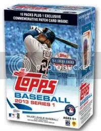 213 Topps Series 1 Box