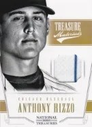 2012 Panini National Treasures Anthony Rizzo