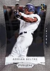 2012 Panini Prizm Adrian Beltre Base Card