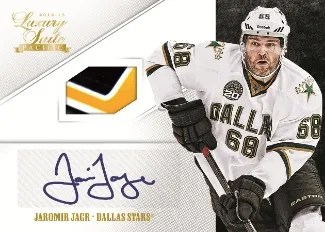 12/13 Panini Luxury Suite Signatures Memorabilia