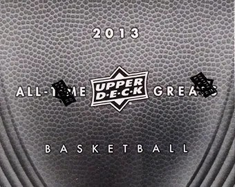 2013 Upper Deck All-Time Greats Basketball