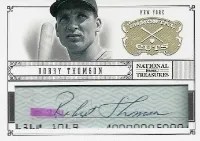 20112 National Treasures Bobby Thompson