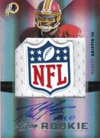 2012 Panini Absolute 1/1 NFL Shield Auto RC