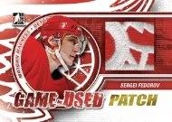 2012-13 In the Game Used Patch