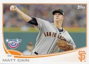 2013 Topps Opening Day #97 Matt Cain Base