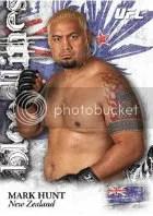 2012 Topps UFC Bloodlines Mark Hunt