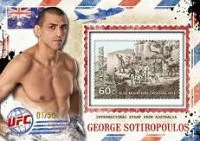 2012 Topps UFC Bloodlines Mail