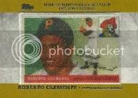 2013 Topps Roberto Clemente Silk
