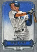 2012 Topps Five Star Derek Jeter Base Card