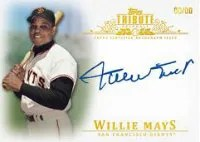 2013 Topps Tribute Willie Mays Autograph