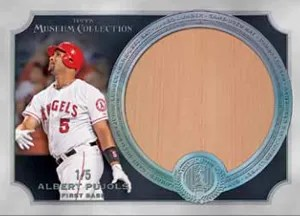 2013 Museum Collection Jumbo Bat Relic Pujols