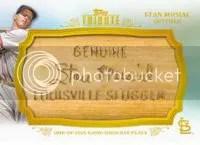 2013 Topps Tribute Stan Musial Bat Nameplate
