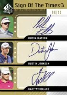 2012 Sp Authentic Sign Of The Times Golf