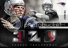 2012 Panini Black Tom Brady Patch