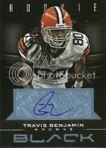 2012 Panini Black Travis Benjamin Auto
