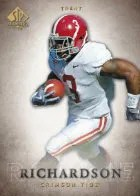 2012 UD SP Authentic Trent Richardson RC