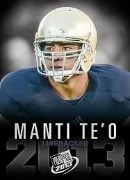 2013 Press Pass Manti Te'o RC