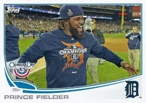 2013 Topps Opening Day Prince Fielder SP #28