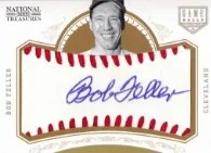 2012 Panini National Treasures Bob Feller