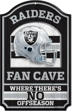 Raiders NFL Sign