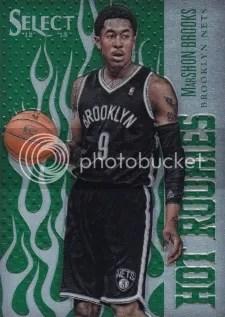 12/13 Panini Select Green Hot Rookie MarShon Brooks