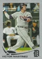 2013 Topps Series 2 Silver Slate Victor Martinez