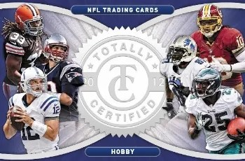 2012 Panini Totally Certified Football Box