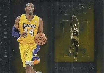 12/13 Panini Brilliance Magic Numbers Kobe Bryant Insert