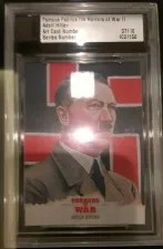 Hitler Card From Famous Fabrics