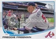 2013 Topps Freddie Freeman Sp