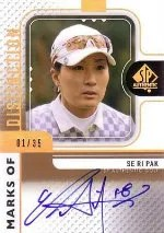 2012 Sp Authentic Se Ri Pak Autograph