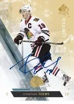 13-14 Sp Authentic Hockey Toews