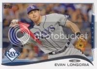 2014 Topps Series 1 Evan Longoria Sparkle