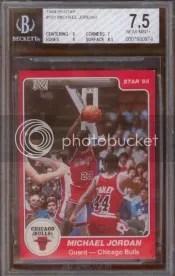 Star Michael Jordan Rookie Card