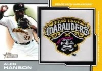 2013 Heritage Alen Hanson Hat Patch